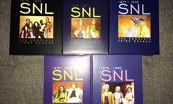 Saturday Night Live 1975-1980 1st 5 seasons DVD. Used but in great condition.