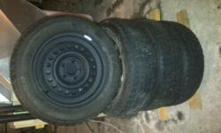 cooper weathermaster s/t2 with rims 195 65 15 5 bolt $300 or best offer please email or call excellent condition 905 401 4892