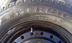 P205 / 65 R15   Snow Tires used 2 seasons.   Asking $150.00