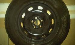 I have a set of 4 Goodyear Nordic winter tires on 15 in. rims for sale.(5x100 bolt pattern). These were on a 2003 volkswagon Jetta. Excellent condition. Only used one season. Asking $350 or best offer Located in Fergus but can deliver to Guelph, KW and