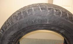 WINTER TIRES FOR SALE YOKOHAMA Ice Guard iG20 205/70R15  Used One Season Only Sold Car & Tire Size Will Not Fit New Car Perfect Condition / No Cuts  90% Of Tread Remaining  Set of 4 Tires - $325.00