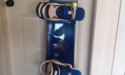 Rossignol Wave Snowboard and Unit 50 Bindings. Board approx 154cm. Excellent condition. $150.00 obo