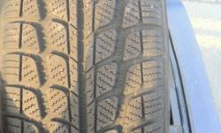 Snowmaster tires 205/60R16, almost new used only for three months last season, about 95% tread left on it, $360 No low ballers please, email me and I'll get back to u ASAP This ad was posted with the Kijiji Classifieds app.