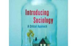 I am currently selling my Sociology Textbooks. It is in mint condition. Price is negotiable. Sociology: Introducing Sociology-A Critical Approach by Murray Knuttila 4th Edition ~$70 Sociology: As a Life or Death Issue by Robert J. Brym 2nd Edition ~$20