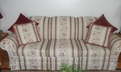Sofa and Chair in excellent condition
