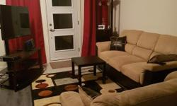 Cute, clean, comfy sofa and loveseat for sale! $700 negotiable.