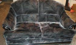 Nice and clean well maintained sofa-bed and love seat (moving sale)