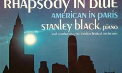Seven albums: George Gershwin...Rhapsody In Blue/American In Paris Earl Grant...Best (double album) Woody Herman...Golden Favorites Al Hirt...At Dan's Pier 600 Gene Krupa...And His Orchestra, Best Max Morath...The Best Of Scott Joplin (double album) Seven