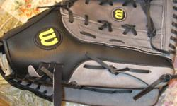 Wilson Softball Glove excellent condition large. Please call 613-741-4450.