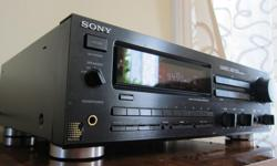SONY'S HI-END ES SERIES; PREMIUM CONDITION STR-GX40ES WORKS AND SOUNDS LIKE NEW Clean in and out, dust-free, smoke-free. All controls were deoxidized and lubed and are noise-free. Bias voltages were set to 3.5mV at power up, per service manual, for best