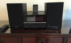 Sony Micro Hi-Fi Shelf System Model # CMT-BX20I