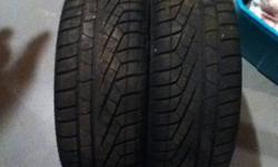 I am selling these because i have all season tires. Been driven only one winter and loads of tread left, paid $320 and asking $250 OBO. email me or send me a text 5197748607.