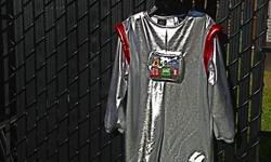 Space man Halloween costume in size 4. Helmet has never been worn.