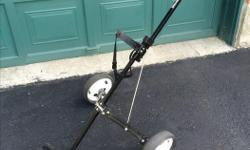 Spalding Golf Cart Very solid and light Folds up easily Wheels are in very good condition $20