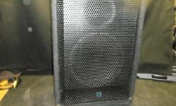 2 yorkville speakers good condition