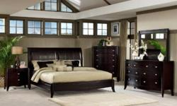 Why pay more if you can get less? Check out collection. We are doing biggest sale event right now. - Solid Wood Bedroom Furniture 7 pieces -   $ 999 ( Headboard, Footboard, Rails, 2 Night Tables, Dresser and Mirror) - Reclining Leather Home Theatre 5