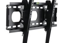 WhateverYouWant.ca... HST Included.... Brand New & In-Stock! Brief Description: - Fits most 32-60in flat panels - Tilt +/-15 degree - Max loading 75kg/165lbs - Compliant to VESA standard - Mounting harware included - User manual included - Colour: black