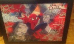 Marvel Ultimate Spider-Man holographic/3D type picture in frame. Moving in a couple weeks