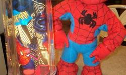 Spider Man Light & Dancing/Singing/Talking Figure - Sings the inzy bitzy Spider - in Excellent Condition.