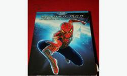 Spiderman Trilogy on Blu-Ray. Price of $39 includes taxes. The Bay Street Broker has an extensive selection of motion picture Blu-Rays and DVD's, as well as wrestling and television box sets to please any taste. Give us a call and and maybe we will have