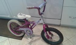 Ok so the front wheel doesn't match but heh its only $25 and it will get you through the summer :). Doesn't include training wheels. Pickup in kanata and check out my other ads too