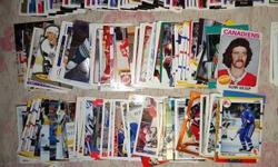 Sports Card Lot for Sale   Sports card lot for sale.  1248 cards in all. Includes 166 baseball cards, 256 hockey cards, and 26 basketball cards plus the complete 1992 upper deck baseball card set of 800 cards plus box, in mint condition.    I have not
