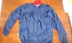 Selling a navy blue Nike jacket size large. In awesome shape just have too many jackets. Port Dover Area