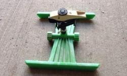 Water your lawn or garden in retro style with this sprinkler!