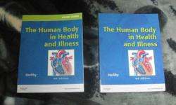 The human body in health and illness just the textbook - $50.00 Just the study guide- $ 25.00 Both together - $65.00 Both the textbook and study guide are in mint condition. In the textbook there is very little highlighting. The study guide has 1 or 2