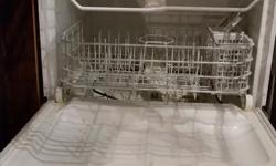 Gently used stainless steel and black built-in GE Evolution dishwasher. We recently upgraded our appliances and are looking to part ways with our old ones. The dishwasher works well and worked the last time we used it. It is currently not installed. Pick