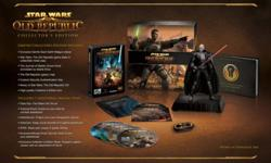 $1000.00 OBO SW:TOR Game released. FULL Collectors Edition Unopened Complete with preorder code and email address used ONLY for the preorder so you can get all that awesome in-game stuff not available to other non-CE packages. For information on the