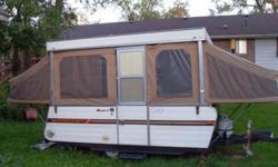Star tent camper sleeps 6 good condition has stove and sink.   would like to sell asap send offers.   thanks