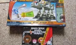 Star Wars AT-AT Angry Birds Game. Used once. Expansion pack new. never been opened $25 for set. ($89 new)