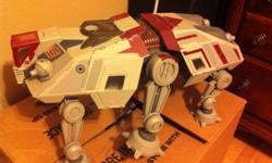 """Collectible models All Terrain Tactical Enforcer From Star Wars Cline Wars Series selling """"AS IS"""" Missing top gun Asking $30 OBO Pick up in sarnia or pay for shipping This ad was posted with the Kijiji Classifieds app."""