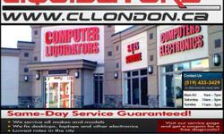 Computer Liquidators  229 Horton St., London, ON N6B1L1 Phone: 519-433-3429 Fax: 519-433-4469 BOXING WEEK! ALL ITEMS ARE ON CLEARANCE!! CHECK US OUT!! Holiday Specials!!! See Flyer For Weekly Deals We Sell New/Used Laptops /Desktops/ Tablets/LCDs/TVs