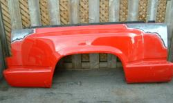 Truck box fenders for a Stepside box . Will fit 88-98 Gmc or Chev Truck