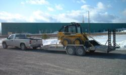 Trailer Stolen On or about Oct 22 to Oct 25 Reported Stolen to OPP Skid Steer was not stolen If you think you have seen this trailer please send me a photo  Please notify with Location seen   I have more photos available and will post at a later date