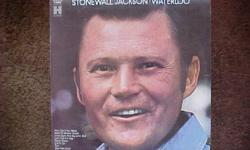 THIS IS THE FIRST ALBUM, WATERLOO, RELEASED BY STONEWALL JACKSON. IT WAS ISSUED IN 1967 ON THE COLUMBIA RECORD HARMONY LABEL. ITS NUMBER IS H 30936. SOME OF THE FEATURED SONGS ARE WATERLOO AND UNCLE SAM AND BIG JOHN BULL. THE CONDITION OF THE ALBUM AND