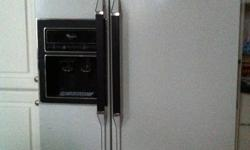 Whirlpool Range - standard size - coil type burners $150.00 Maytag dishwasher - electronic controls - with timer $150.00 *** Whirlpool 22 cu.ft. side by side FRIDGE IS SOLD *** *** Whirlpool 22 cu.ft. side by side FRIDGE IS SOLD ***