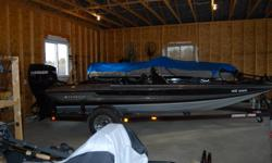 Stratos 285 ProXL / Evinrude E-TEC 175 (2008)     $13,900.00 obo   -            Approximately 80 hours on the motor (under warranty until May 2013) -            Stainless Renegade Bass TBX Prop 13.5 x 23RH -            HI-JACKER 6? Jack Plate -