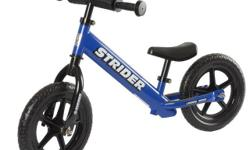 """Still in box 12"""" Blue The perfect starter bike for children 18 months - 5 years No-tool height adjustments for seat and handlebars Includes bonus XL post for taller riders Lightweight design makes it easy for toddlers to control Simple, no-tool assembly"""