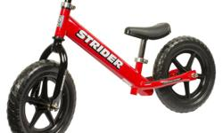 These great little run bikes help your toddler learn balance and steering without pedals getting in the way. As soon as your child can walk, he or she can use a Strider Bike. Striders are the lightest balance bikes on the market and the only ones with a