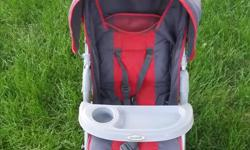 Avalon stroller in good condition. Folds down for easy storage. Perfect for travel.