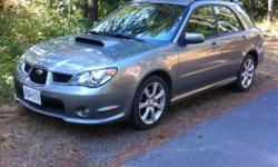 Make Subaru Model WRX Year 2006 Colour grey kms 240000 Trans Manual American car, 152 000 miles, standard transmission, needs some loving, needs new front bumper, runs awesomely, open to offers