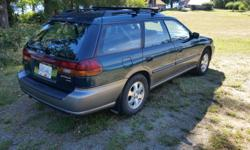 Make Subaru Model Legacy Wagon Colour green Trans Automatic kms 245000 1999 Subaru Outback AWD wagon in good, clean condition with all service records. Recent repairs include head gasket, engine reseal,power steering pump, water pump, timing belt, brakes,