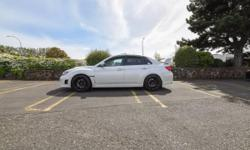Make Subaru Model Impreza WRX STi Year 2011 Colour white kms 80000 Trans Manual Selling my 2011 Subaru wrx sti with sport tech package. I am currently the second owner and the car has been kept in excellent condition since new. I have only ran 94 octane