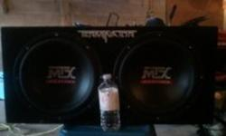 705 768 1023 MTX terminaters rated for 800 watts each ,amp 500 watt no trades