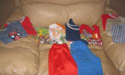 Lot of BOYS size 5 Includes: 7 t-shirts 2 dress shirts 2 shorts Assorted Brands Good condition Selling as a lot only - get ALL 11 items for ONLY $20 (works out to be ONLY $1.81 per item) You wont get this price anywhere else!!!!!! can meet in west end of