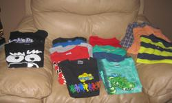 Summer LOT of Boys Size 7/8 Includes: 13 T-shirts 2 Dress shirts 1 Short-sleeve top with collar 1 short-sleeve top Total 17 items Get ALL for ONLY $30 (works out to be $1.76 per item) AWESOME PRICE Can meet in west end of ottawa (kanata) or pickup in