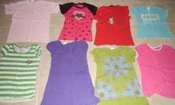 All clothes in the pictures is for this price. All clothes are in excellent condition.